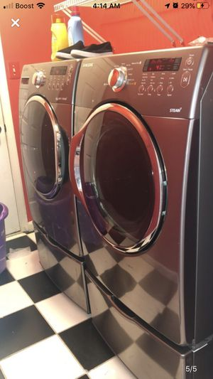 Washer and Dryer with Pedestals MAKE AN OFFER for Sale in Sterling, VA