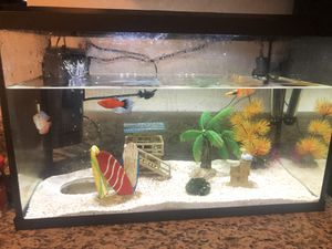 Fish Tank w/ everything needed included for Sale in Palmdale, CA