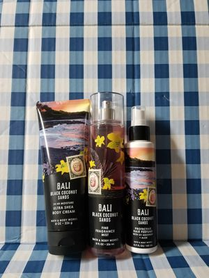 BATH AND BODY WORKS- BALI BLACK COCONUT SANDS for Sale in Stanton, CA