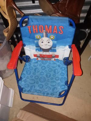 Thomas The Train Kid's Fold Up Chair. for Sale in Whitehall, OH