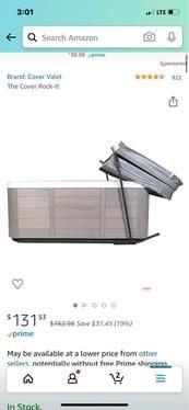 Hot Tub Cover Holder for Sale in Alexandria,  VA