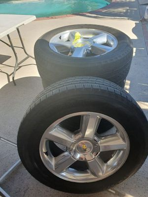 4 tires for chevy for Sale in Rialto, CA