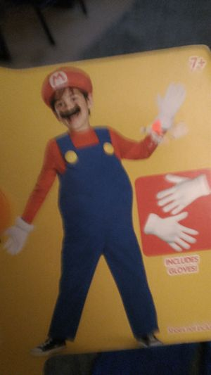 Mario costume size 7/8 for Sale in Upland, CA