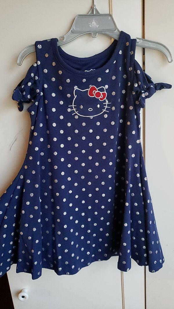 Girl dress Sz 3t Hello Kitty