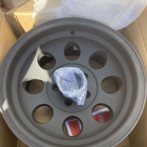 Flat Black 15x8 Jeep Yj Wheel for Sale in Hollywood, FL