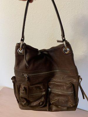 Tano brown leather handbag for Sale in La Mesa, CA