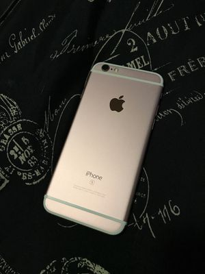 IPhone 6s Gold Rose 64GB Unlocked (Used) for Sale in Orlando, FL