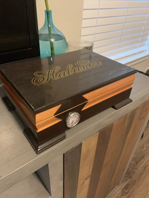 Habanos cigar humidifier + plus cigar accessories for Sale in Richmond, TX