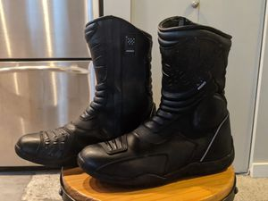 Sedici Waterproof Touring Motorcycle Boots for Sale in Tacoma, WA
