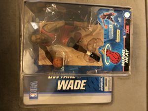 Dwayne Wade Miami Heat McFarlane Toys Action Figure NBA Series 9 2005 (Red Jersey) 🔥🔥🔥 for Sale in Greenville, SC