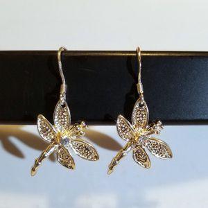 Dragonfly 925 Sterling Silver Boutique Dangle Hook Earrings for Sale in Lynwood, CA