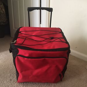 Never used but opened Picnic time cooler on wheels with handle for Sale in Atlanta, GA