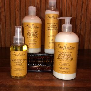 All Brand NEW!!! 🆕 Shea Moisture brand Hair Care Products - Raw Shea Butter (((PENDING PICK UP TODAY 4pm))) for Sale in Chesapeake, VA