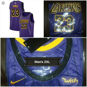 LeBron James Lakers jersey men's 2XL for Sale in Blackstock, SC