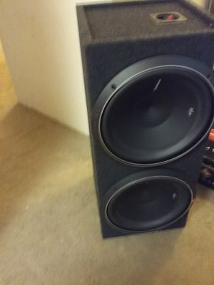 New 12 inch Rockford fosgate p2 subwoofers for Sale in Renton, WA