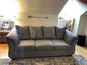 Gray Couch for Sale in Frederick, MD