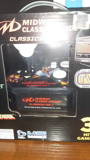 Midway classic arcade games for Sale in Perris, CA