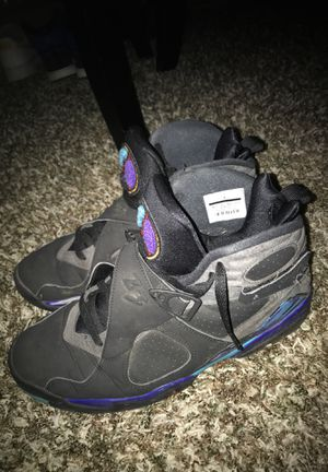 Jordan 8 Retro Aquas 10.5 for Sale in Spanaway, WA
