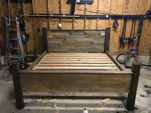 Hand made queen sized bed for Sale in Festus, MO