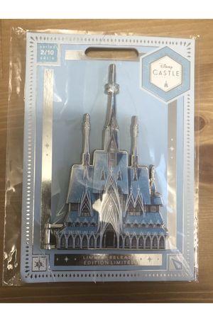 Frozen Castle Pin Disney Castle Collection Limited Release for Sale in Manassas, VA