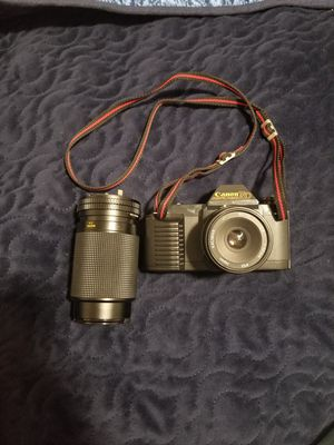Canon T50 35mm Film Camera with 50mm and Zoom Lens for Sale in Delano, CA