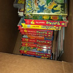Pokemon Vhs Cassette Tapes Vintage for Sale in Annandale,  VA