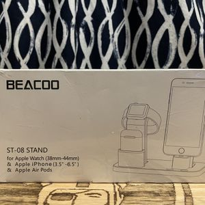 BEACOO 3in1 Charging Stand For Apple iPhone 5-12, AirPods, iwatch for Sale in Los Angeles, CA