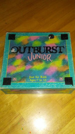 1989 Outburst Junior Board Game for Sale in Hilldale, PA