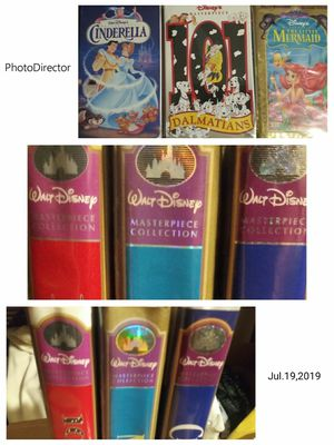 Disney vhs masterpiece collectors series for Sale in Las Vegas, NV