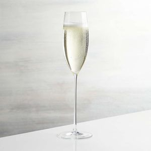 Crate and Barrel Camille 8 Oz. Long Stem Champagne Glasses (Set of 6) for Sale in Washington, DC