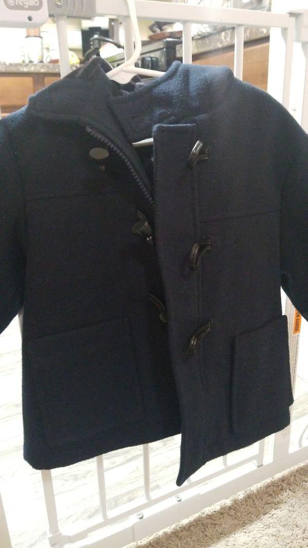 Wool Boy Coat