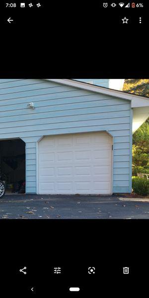 Two Garage doors with 2 garage door opener motors and keypads for Sale in Morris Plains, NJ