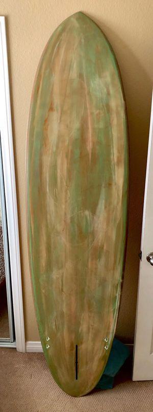 """7'2"""" surfboard, egg, tri fin, shaped and glassed by Watte. bing, tyler, takayama, Howard, warren for Sale in El Cajon, CA"""