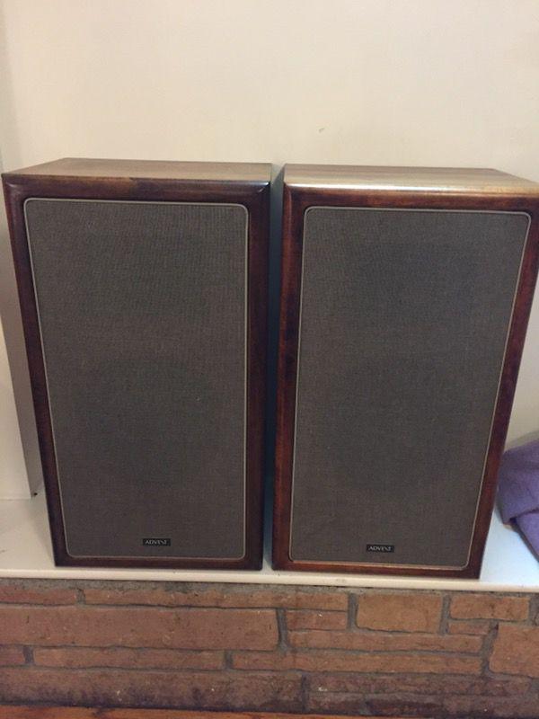 vintage advent 5012 w beautiful speakers for sale in. Black Bedroom Furniture Sets. Home Design Ideas