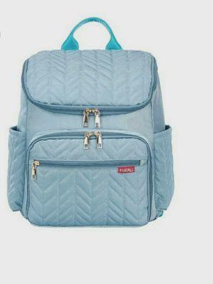 Diaper Bag for Mom Maternal Nappy Backpack, Mother Stroller Pram Baby Care, Nursing Organizer Changing Bag . Color is light blue for Sale in Louisville, KY