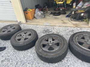 Jeep factory wheels all 5 for Sale in CORNWALL Borough, PA