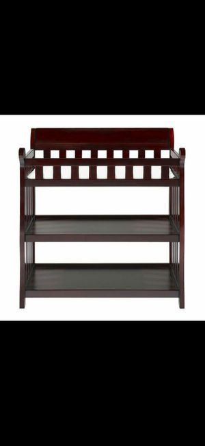 Brand new espresso baby changing table for Sale in Las Vegas, NV