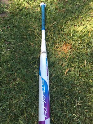 Easton stealth flex fast pitch softball bat 30 inch 19 oz for Sale in Fullerton, CA