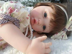 "Reborn silicone baby doll 23"" tall for Sale in Hyattsville, MD"