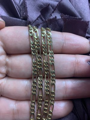 Figaro link Chain 3mm 24 Inc for Sale in Raleigh, NC