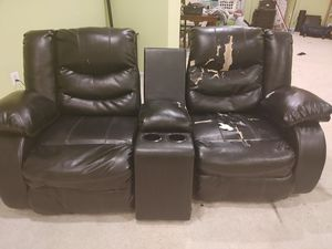 Couch and theater seats for Sale in Sully Station, VA