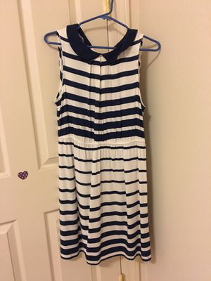 ELLE Striped Dress with Rounded Collar for Sale in Mesa, AZ