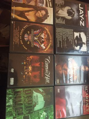 8 Hip-hop music dvds for Sale in Phoenix, AZ