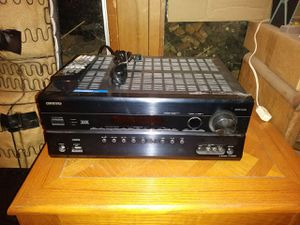 Onkyo AV Home stereo theater Receiver TX-SR608 for Sale in Stockton, CA