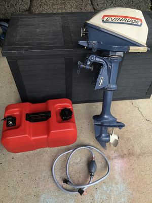 1969 Evenrude motor 4hp great condition . for Sale in Belmont, NC