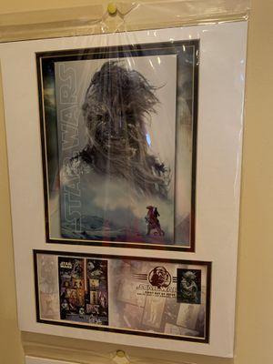 Star wars chewbacca Poster for Sale in Oswego, IL