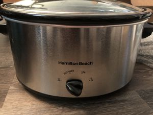 Hamilton beach brand new crock pot. for Sale in Naples, FL