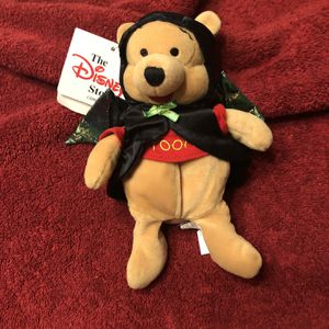 Disney Pooh Plush In Vampire/Bat Outfit for Sale in Upland, CA