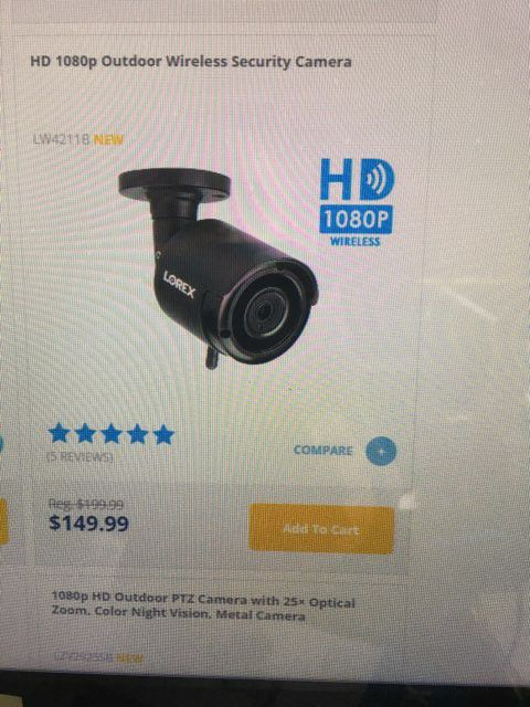 Cameras system