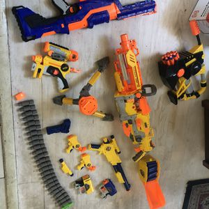 Nerf Guns And Bullets for Sale in Littleton, CO